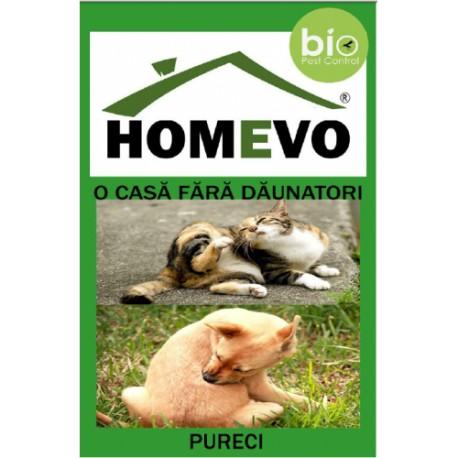 Pulbere anti Purici pentru animale, Bio