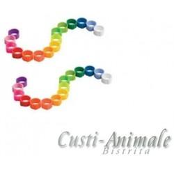INEL colorat pentru PORUMBEI 8 mm (16 culori)