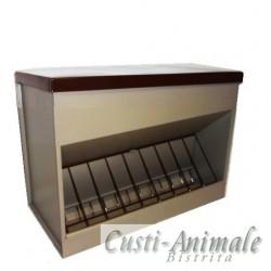Hranitor Universal (Pasari-Animale) rezervor 28 L - cu grilaj