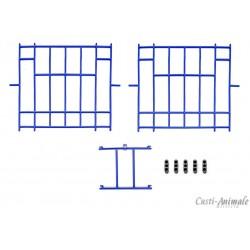 Fete plastic pentru boxe porumbei cu usa 32,5x31,5 cm